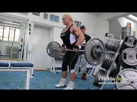 Brigita Brezovac – Workout For Ms. Olympia 2012
