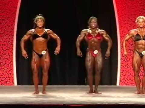 Ms. Olympia 2006 – Female Bodybuilding Judging Round
