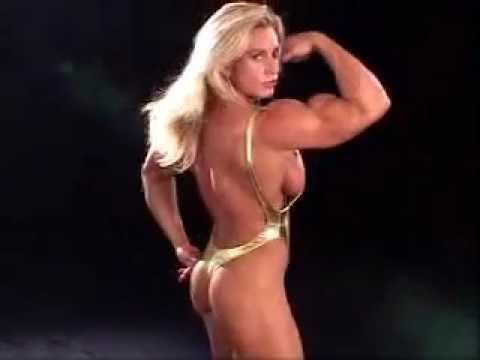Joanna Thomas Female Bodybuilder Posing From 2004