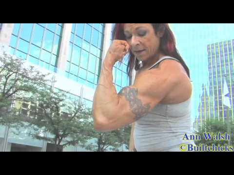 Ann Walsh Flexing
