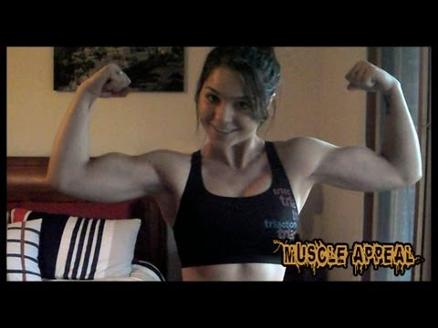 Christina – Strong Powerful Muscle Girl