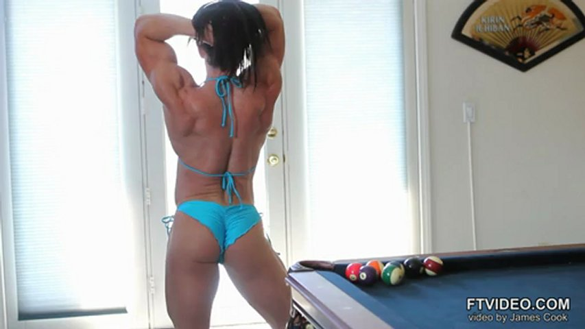 Jessica Williams – Muscles In 4K