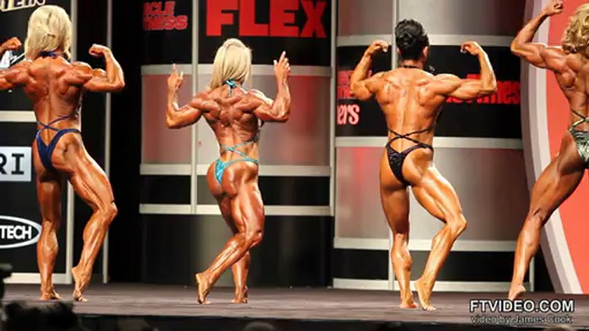 Ms. Olympia 2012 Prejudging