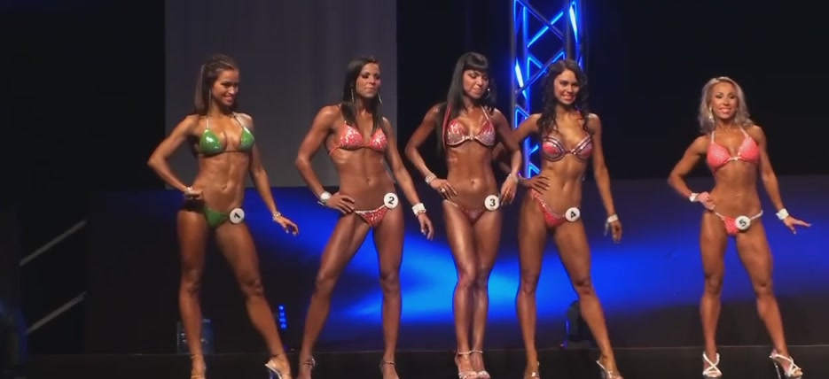 Olympia Amateur Bikini Final up to 163cm