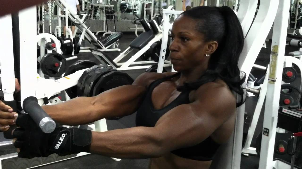 Margie Martin – Chest Workout