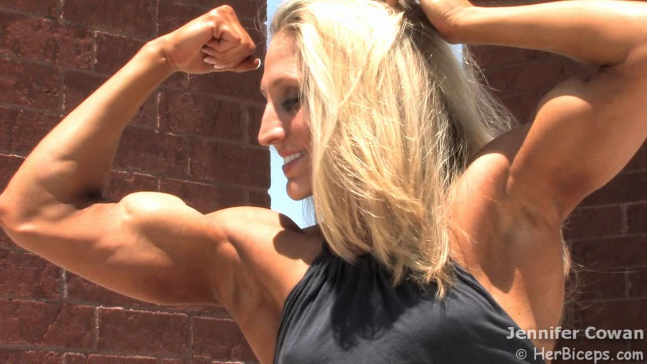 Jennifer Cowan – Beautiful Crisp Biceps