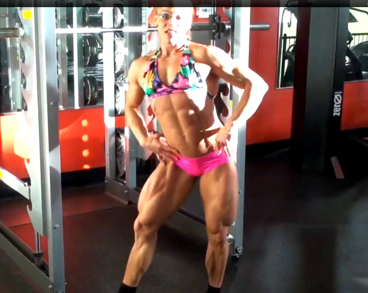 Monica Mollica – Posing In Gym