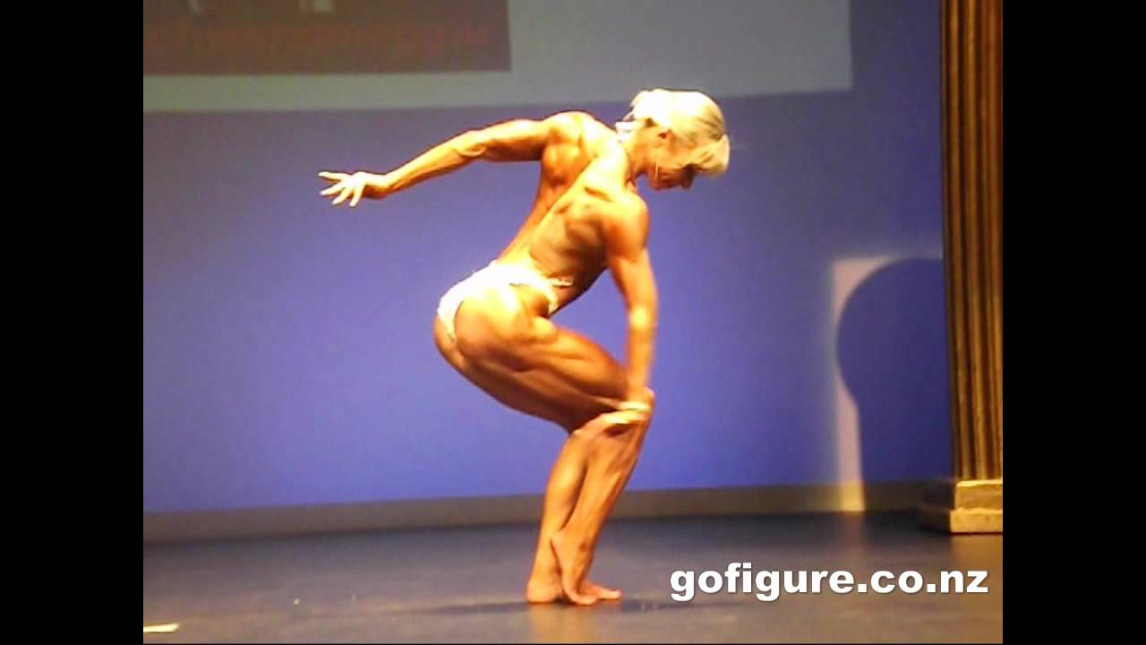 Johanna Mountfort – NABBA WFF Nationals 2012