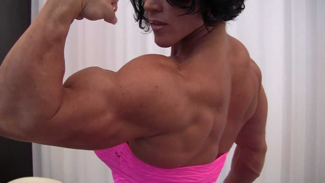 Aleesha Young – Ripped Muscles