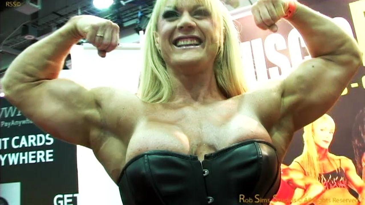 Lisa Cross At The Arnold Classic 2012 Interview And Posing