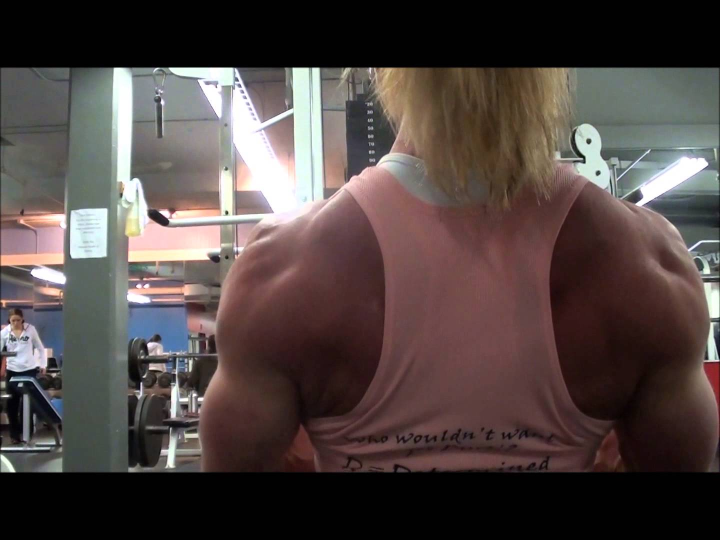 Lisa Giesbrecht – Back Workout