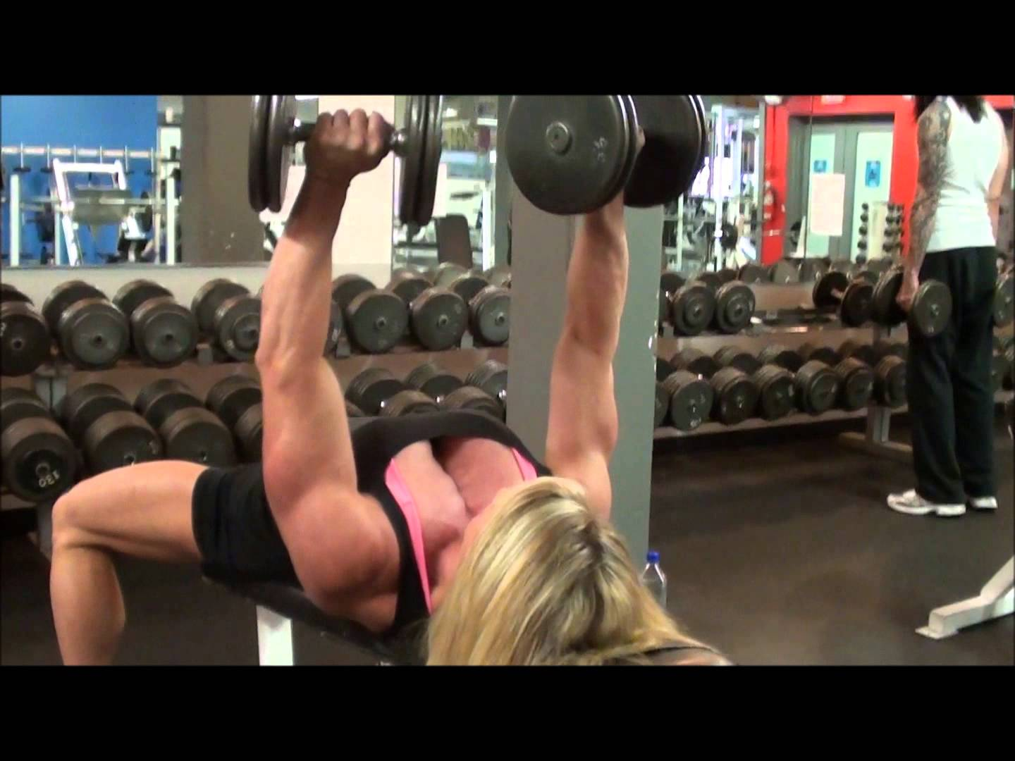 Lisa Giesbrecht – Chest Workout