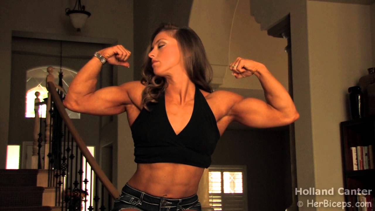 Holland Canter – Biceps Flexing