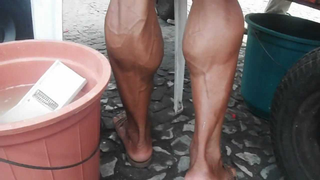 Strong Female Calves And Veins