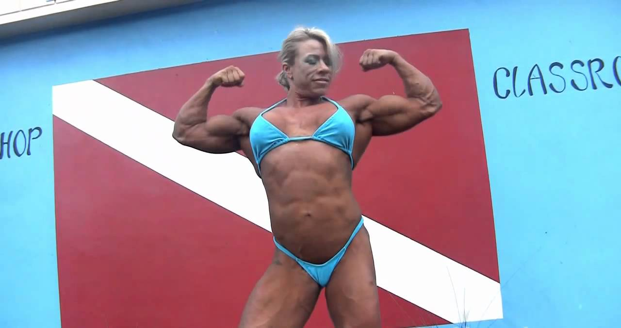 Julie Bourassa – Ripped Muscles