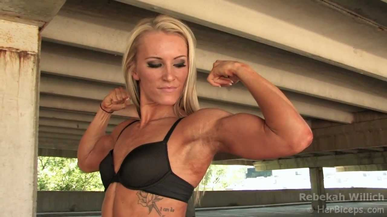 Rebekah Willich Flexing