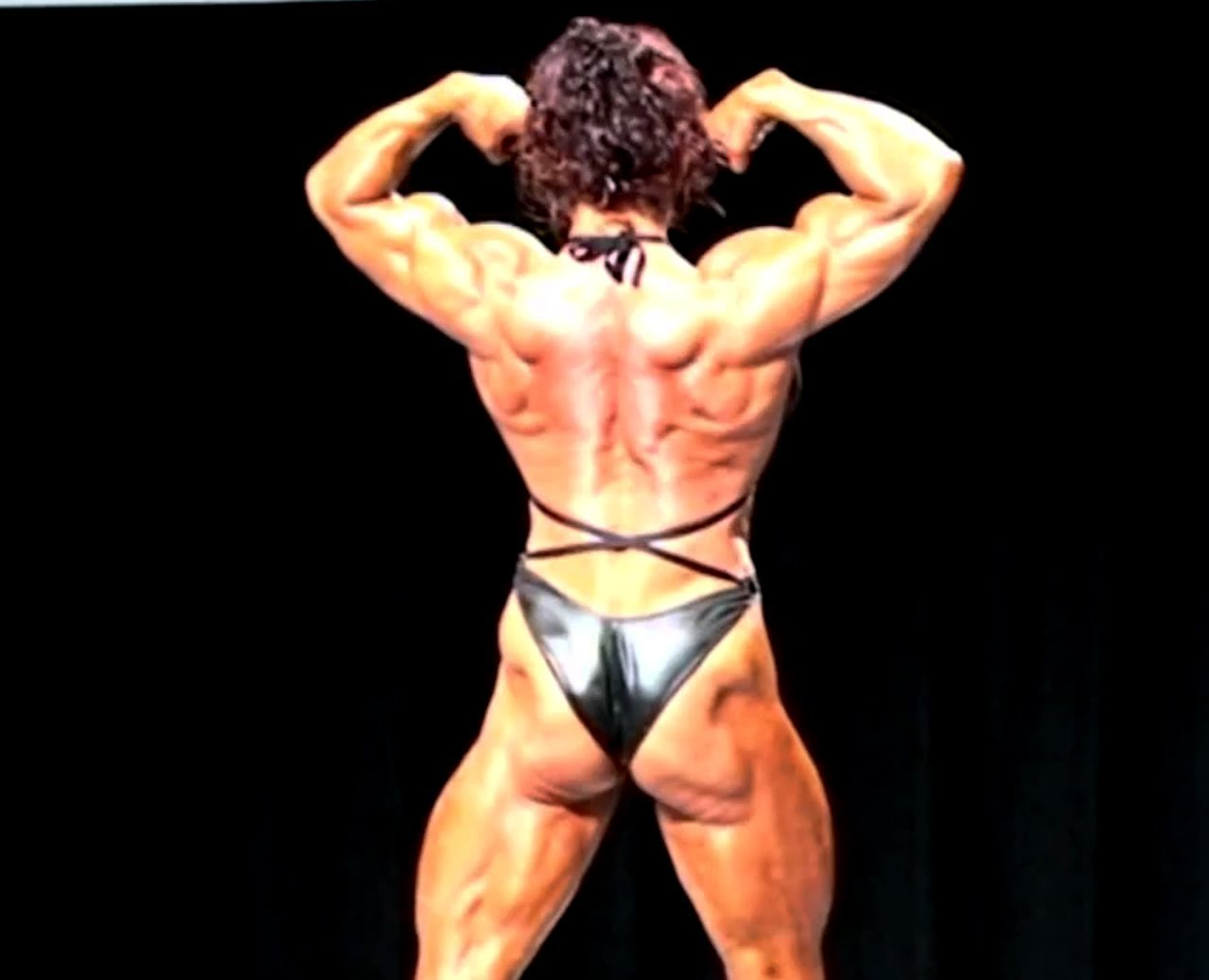 Jana Linke-Sipple – Competition Posing