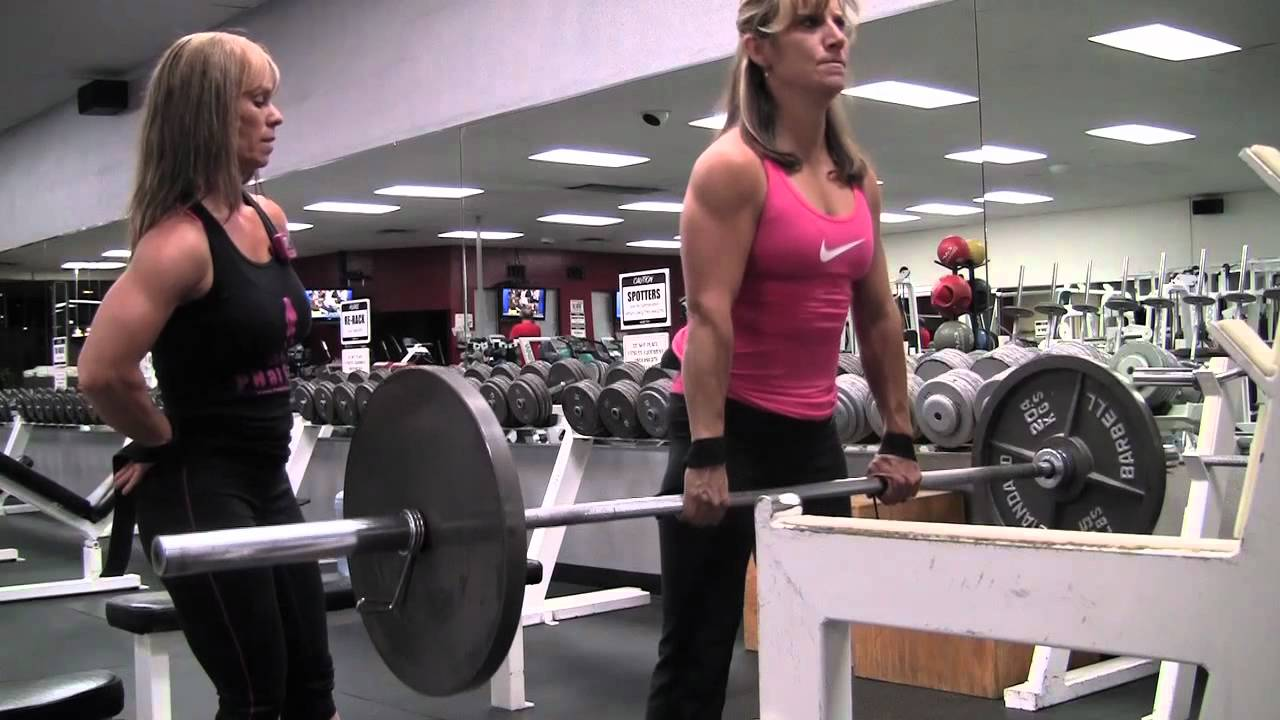 Clifta Coulter Perez & Rachel Rivers – Strong Girls Doing Heavy Deadlifts