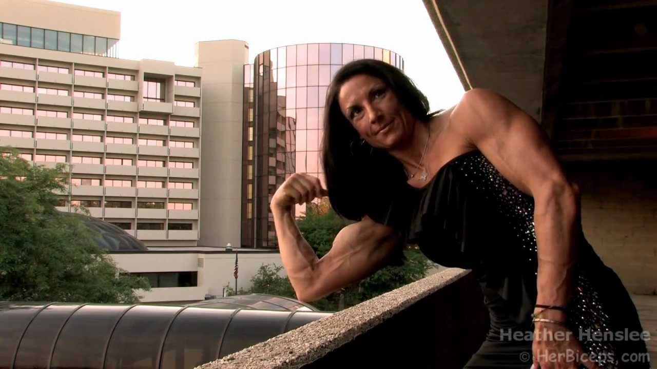 Heather Henslee – Big Biceps