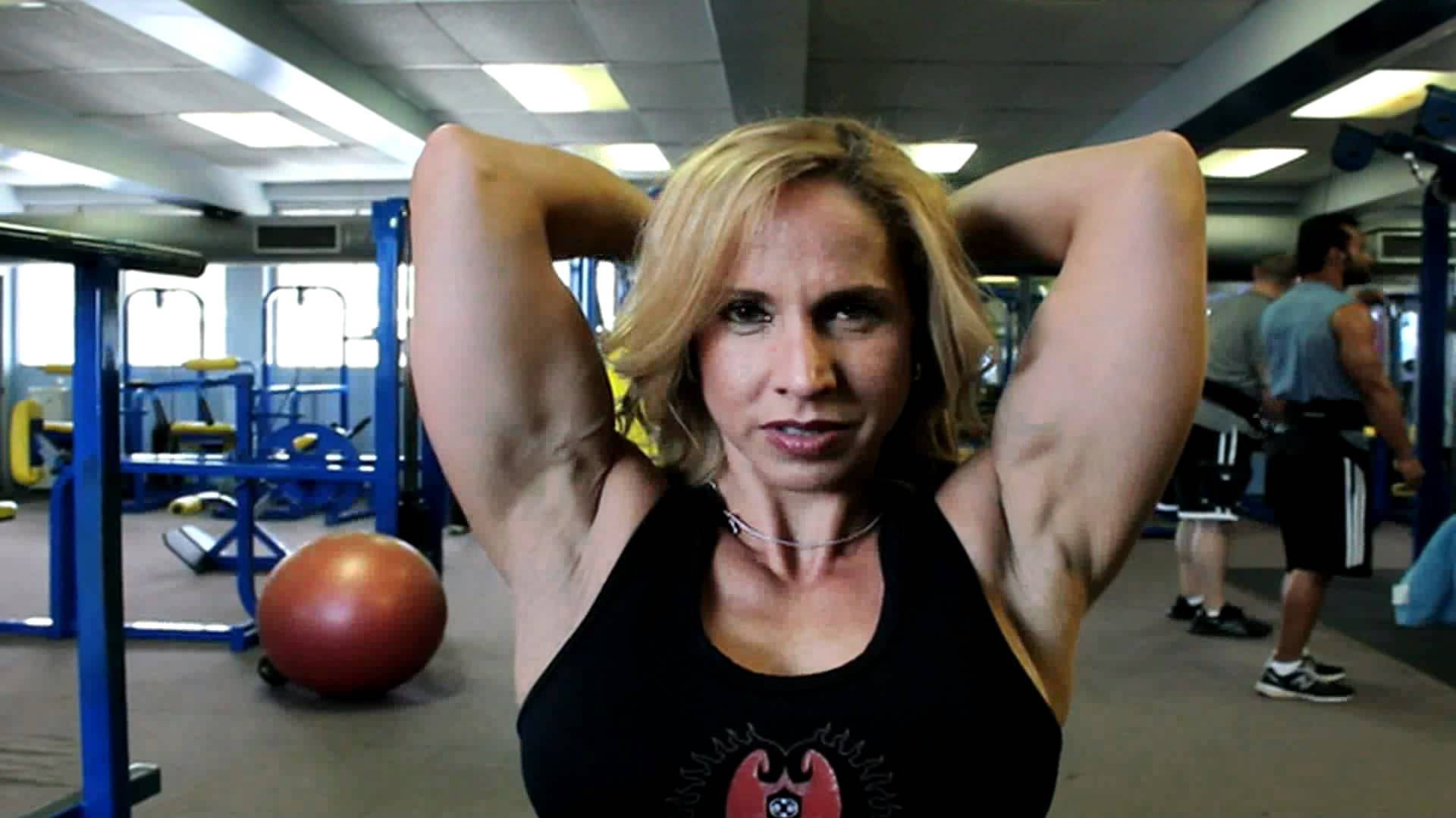 Ana Sanchez – Biceps Workout