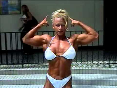 Christine Moore – Biceps Flexing