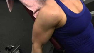 Wendy Lindquist – Biceps Workout