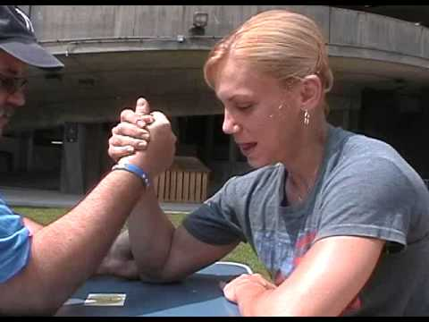 Desiree Barrieau – Mixed Armwrestling