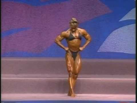 Sharon Marvel – Ms. Olympia 1993 Posing Routine