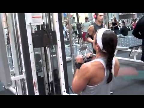 Catherine Boshuizen (Holland) – Back Workout
