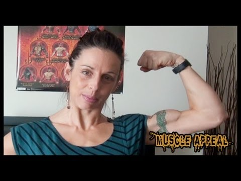 Michele – Biceps Flexing