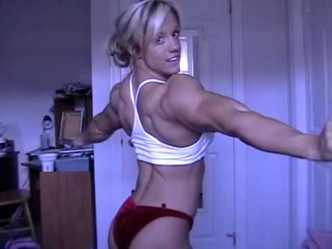 Cindy Phillips Flexing