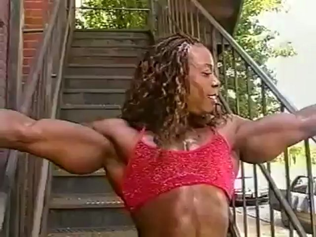 Heather Foster Flexing
