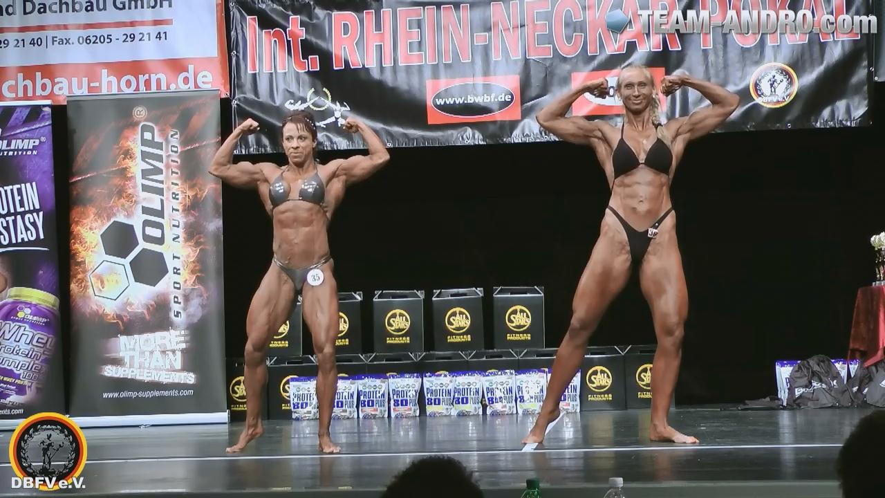 Rhein Neckar Pokal 2012 – Women's Bodybuilding Final