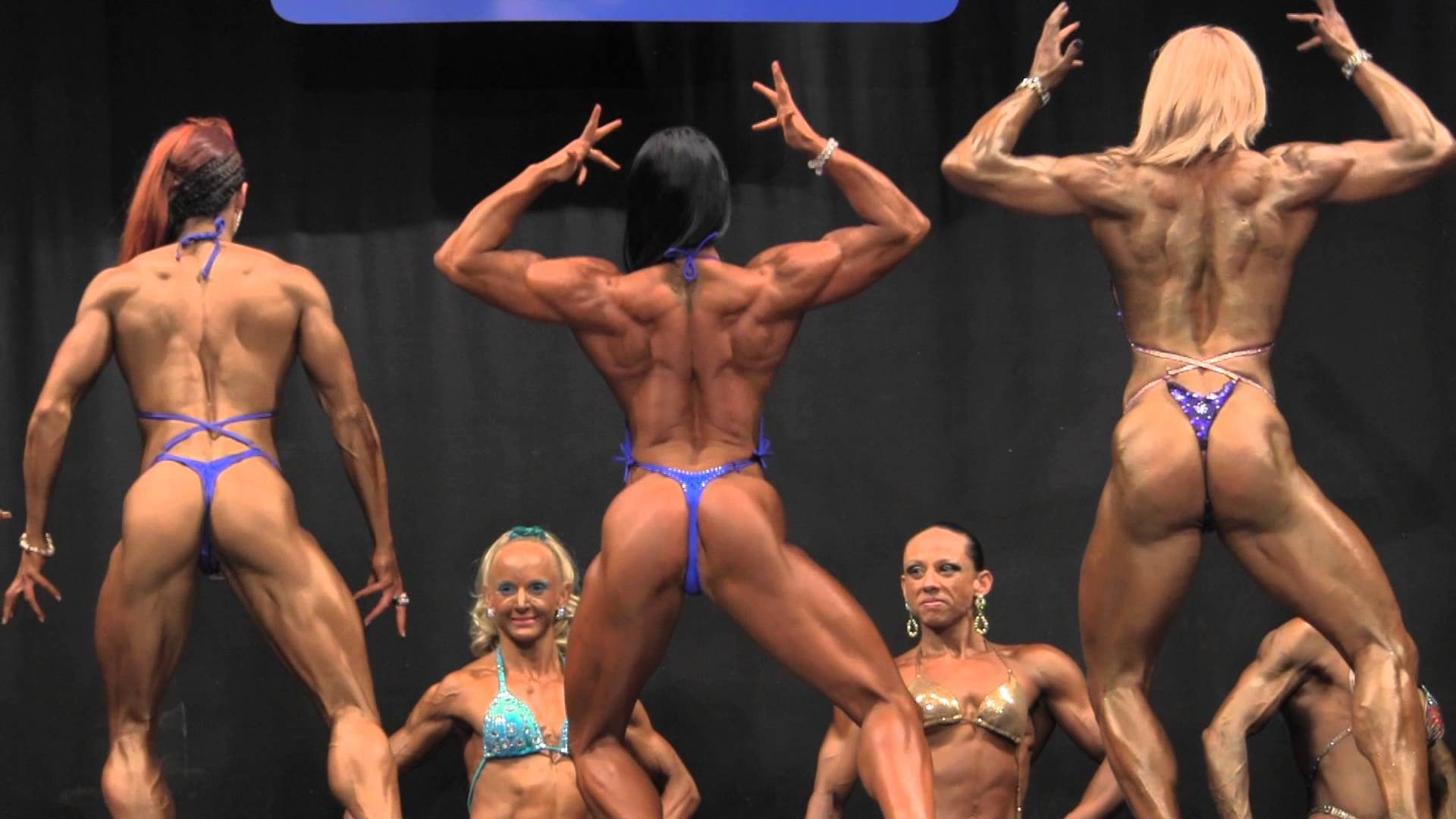 NABBA Universe 2012 – Figure Comparison