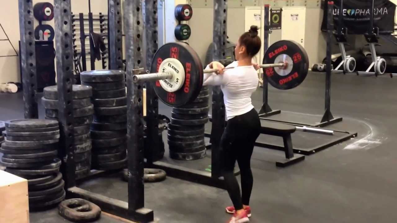 CrossFit Girl Performing Movements Most Guys Can't Do