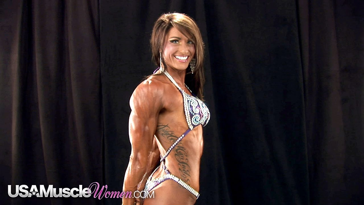 NPC Junior Nationals 2012 – Women's Bodybuilding & Physique Backstage Posing