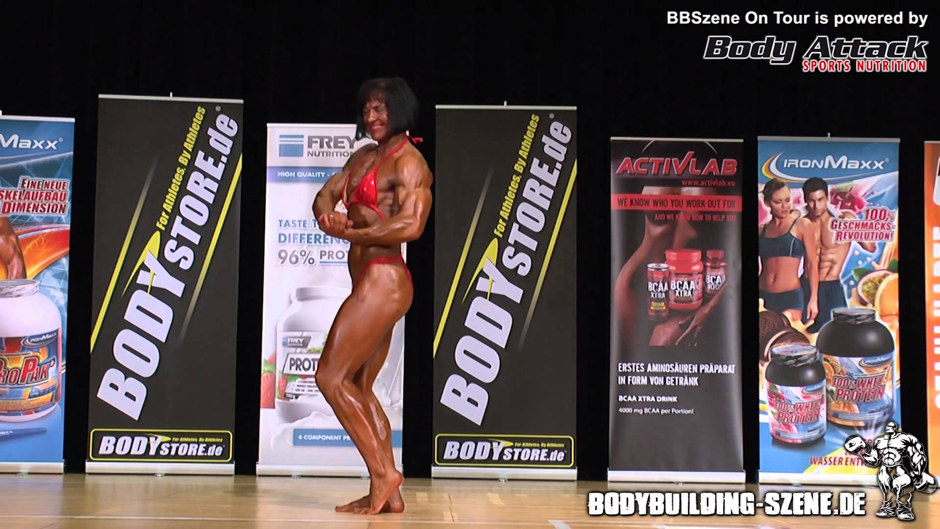NAC German Championship 2012 – Women's Bodybuilding