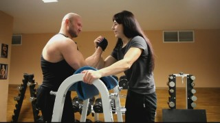 Mira Diana Albegova – 52kg (115lb) Biceps Curls And Mixed Armwrestling