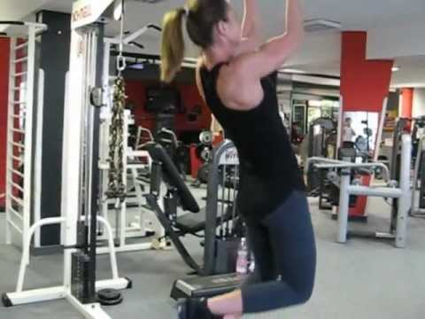 Karai Edina – Back Workout