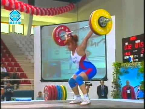 Weightlifting European Championships 2002 – Women 75kg