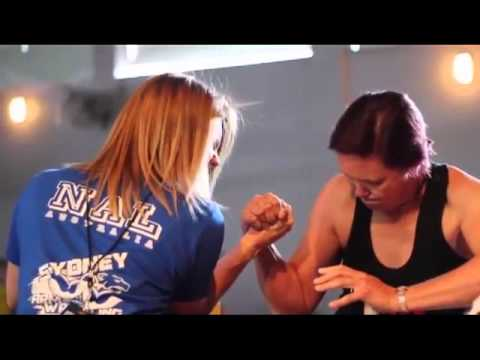 Kortney Olson – Armwrestling Champion