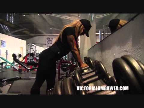 Victoria Lomba – Hard Gym Workout
