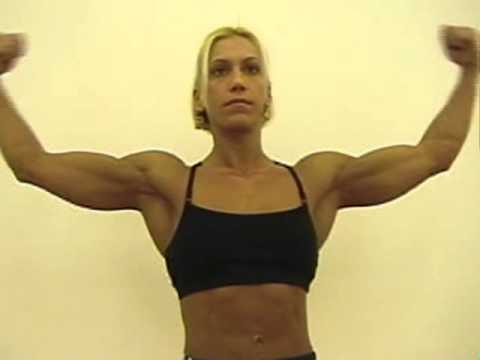 Desiree Barrieau Flexing