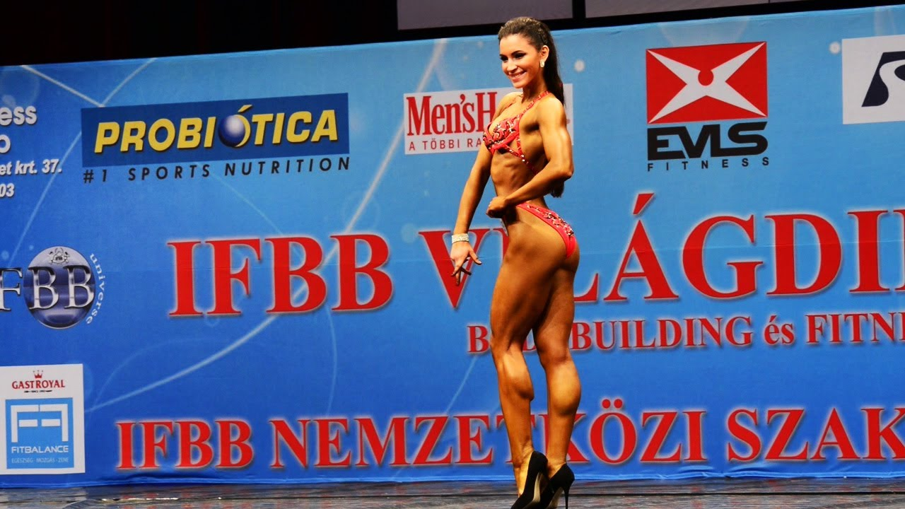 Aminat Tuleubaeva – IFBB Juniors And Masters World Championships 2012
