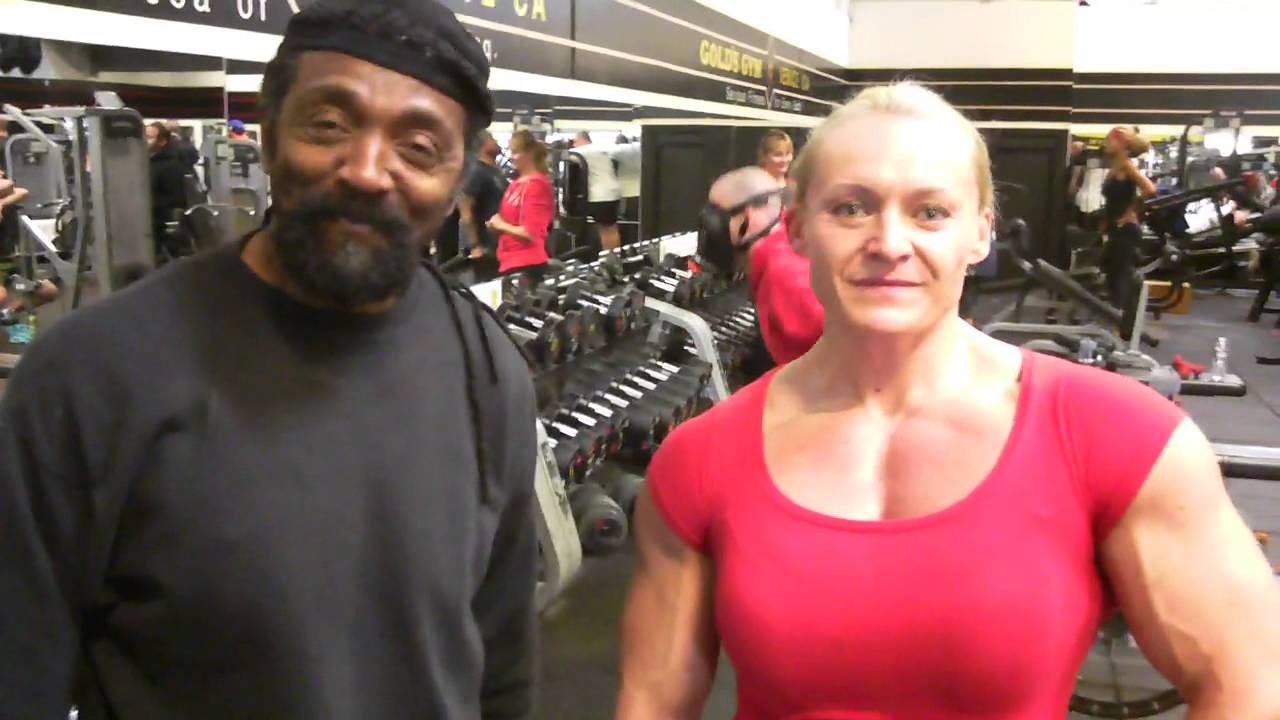Brigita Brezovac Getting Ready For Arnold Classic 2013