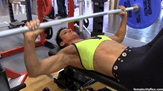 Liliane Bittmann Bench Press