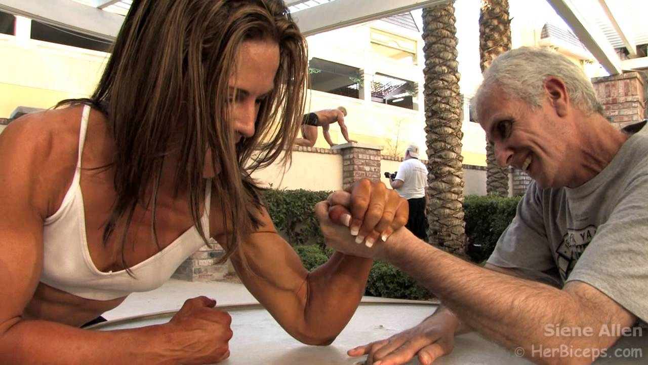 Siene Allen – Mixed Armwrestling