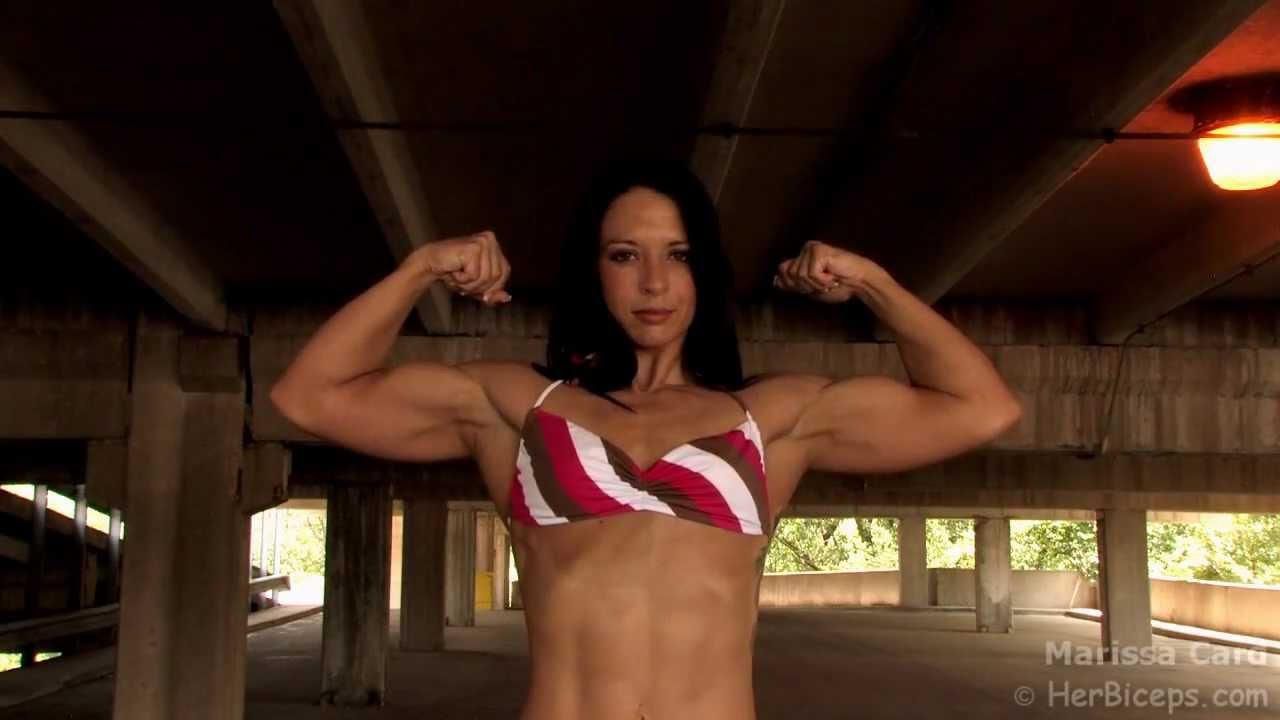 Marissa Card – Double Biceps Flex