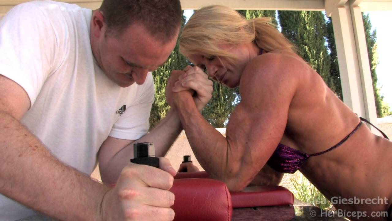 Lisa Giesbrecht – Mixed Armwrestling