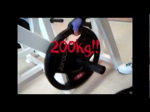 Emma Sue – 200kg (440lb) Shoulder Press